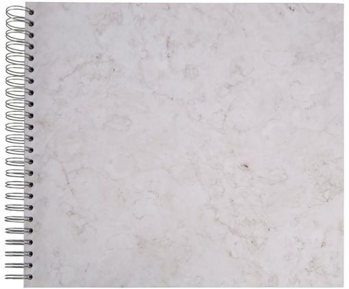 Fotoalbum Picture, Weiß, marmoriert, 35 x 32 cm