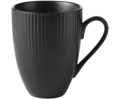 Kaffeetassen Groove mit Rillenstruktur, 4 Stück
