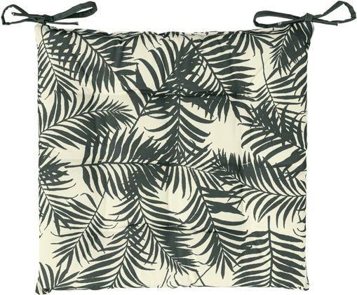 Coussin de chaise d'extérieur imprimé feuilles Gomera