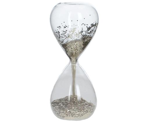 Sanduhr Time, Transparent, Goldfarben