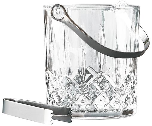 Komplet do lodu, 2 elem., Szkło, Transparentny, Ø 13 x W 16 cm