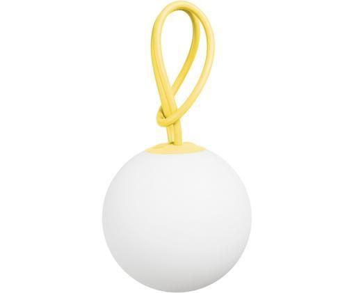 Mobile LED Außenleuchte Bolleke, Weiß, Gelb, Ø 20 x H 20 cm