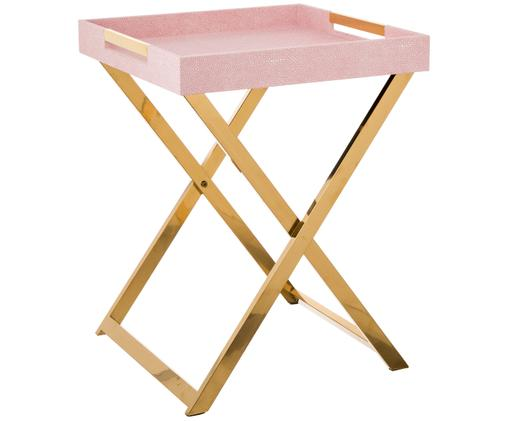 Tablett-Tisch Megan, Rosa