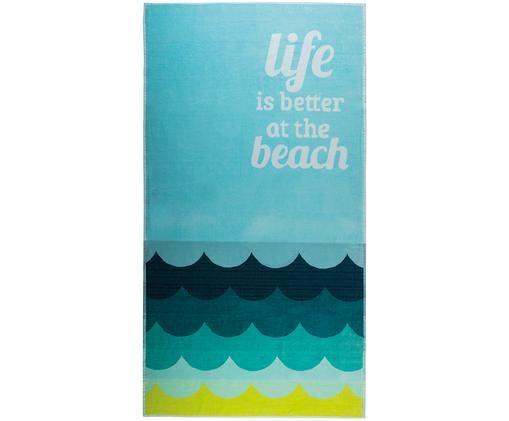 Ręcznik plażowy Beach, Wielobarwny