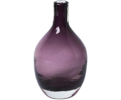 Vase en verre soufflé bouche Bjork