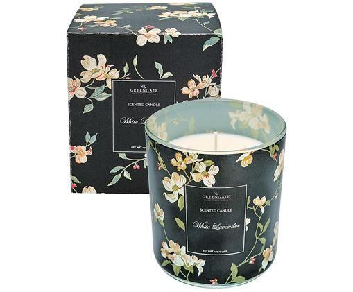 Duftkerze Jolie (Weißer Lavendel), Behälter: Glas, Schwarz, Ø 10 x H 10 cm