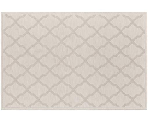 Vnitřní avenkovní koberec ve vzhledu makramee Heaven, Krémová