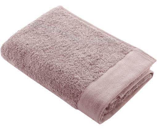Asciugamano in cotone misto riciclato Blend, 65% cotone riciclato, 35% poliestere riciclato, Rosa cipria, Asciugamano