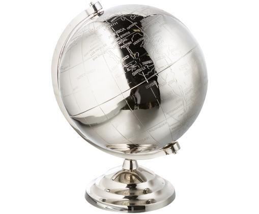 Globus dekoracyjny Globe, Niklowy