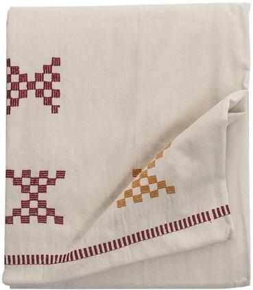 Bestickte Tischdecke Kelti mit Ethno Muster