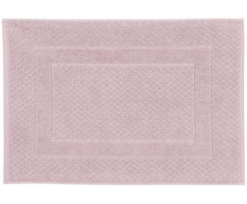 Tappeto bagno in rosa Katharina, 100% cotone, qualità pesante, 900g/m², Rosa cipria, Larg. 50 x Lung. 70 cm