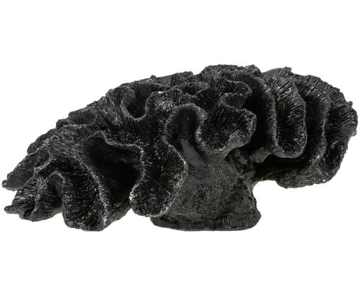 Figura decorativa Marina, Poliresina, Negro, An 24 x Al 12 cm