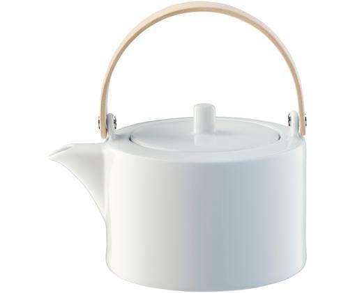 Teekanne Circle, Weiß, Braun