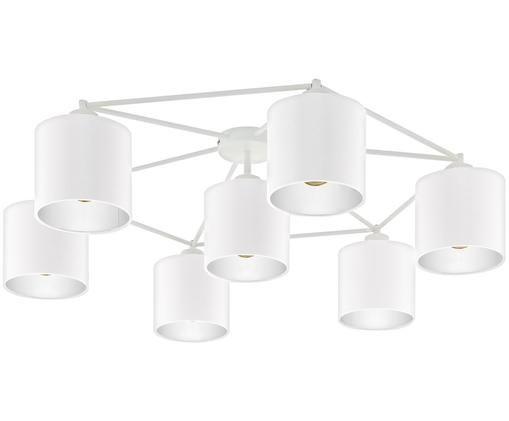 Deckenstrahler Staiti in Weiß, Lampenschirm: Polyester, Weiß, Ø 84 x H 24 cm