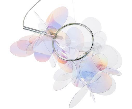 Lampada a sospensione Mille Bolle, Paralume: tecnopolimero Cristalflex, Multicolore, L 47 x A 40 cm