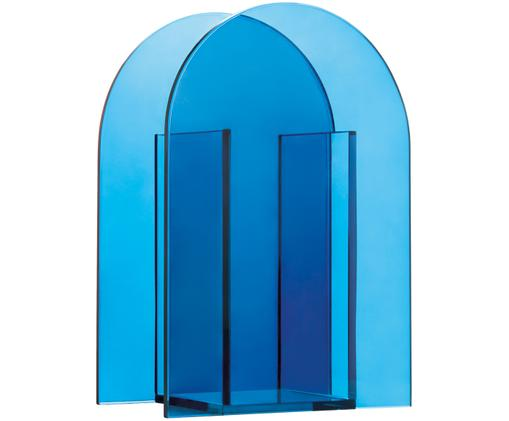 Vase en verre Transparence, Bleu