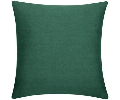 Funda de cojín Mads, 100%algodón, Verde, An 40 x L 40 cm