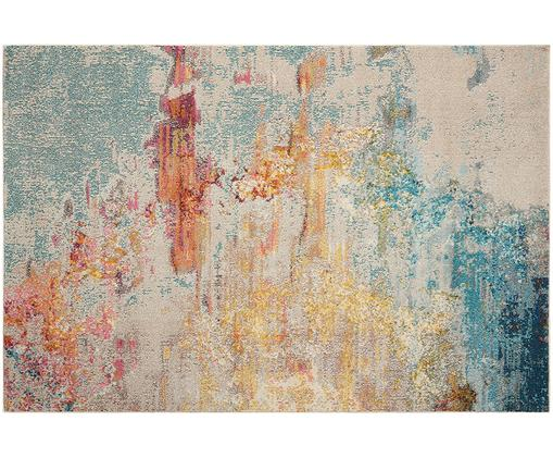 Alfombra de diseño Celestial, Parte superior: polipropileno, Reverso: yute, Multicolor, An 120 x L 180 cm (Tamaño S)