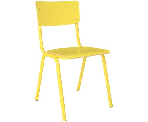 Chaise jaune Back to School