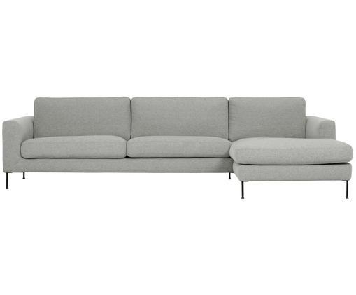 Canapé d'angle Cucita (4places), Gris clair