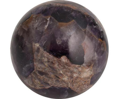 Deko-Objekt Baala, Stein, Lila- und Beigetöne, Ø 5 x H 5 cm