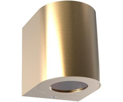Applique a LED Canto, Ottone, Ottone, Larg. 9 x Alt. 10 cm