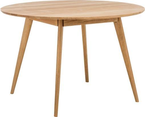 Runder Holz-Esstisch Yumi