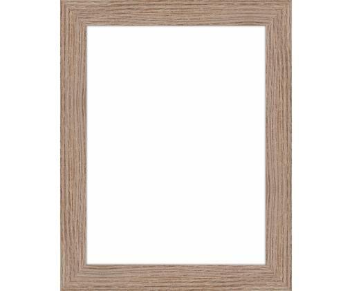 Bilderrahmen Oslo, Rahmen: Mitteldichte Holzfaserpla, Front: Glas, Rückseite: Mitteldichte Holzfaserpla, Hellbraun, 18 x 24 cm