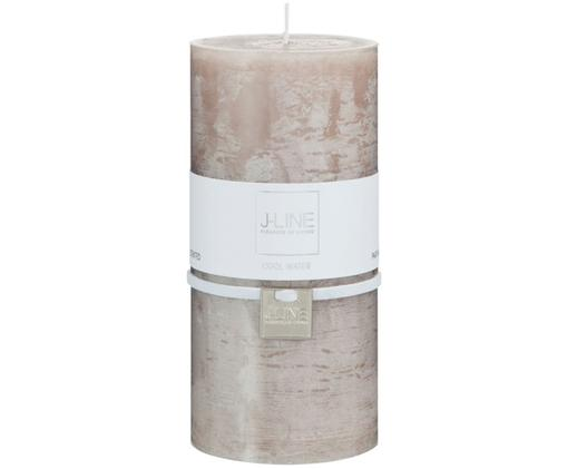 Candela profumata Topo, 95% cera paraffinica, 5% cera di soia, Beige, Ø 7 x Alt. 15 cm