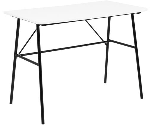 Schreibtisch Pascal mit weißer Platte