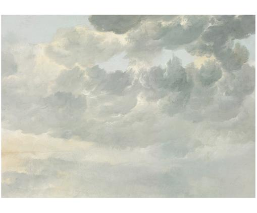 Fototapete Golden Age Clouds, Vlies, umweltfreundlich und biologisch abbaubar, Grau, Beige, matt, 389 x 280 cm