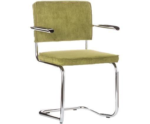 Krzesło podporowe Ridge Kink Armchair, Zielony