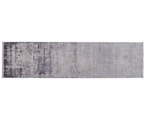 Chodnik z frędzlami  Cordoba, Jasny szary, ciemny szary, S 80 x D 300 cm