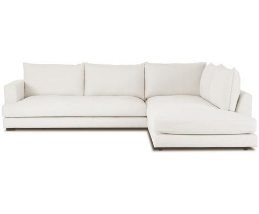 Grand canapé d'angle Tribeca, Tissu beige