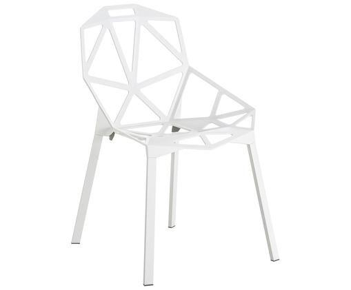 Design-Metallstuhl Chair One