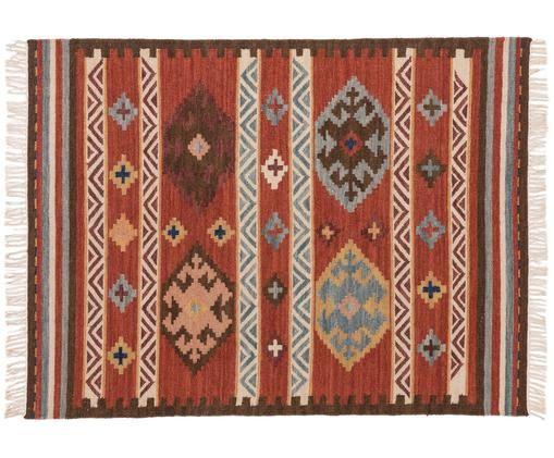 Alfombra artesanal de lana Zohra