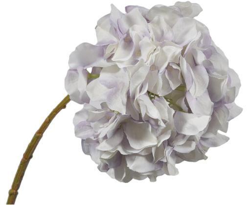 Sztuczny kwiat hortensji Stena, Tworzywo sztuczne, Lila, biały, D 230 x W 10 cm