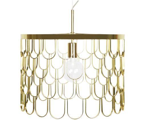 Lampada a sospensione di design Gatsby, Ottone, Ø 45 x Alt. 32 cm