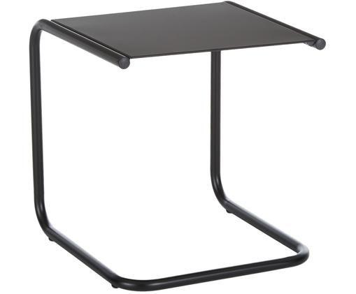 Table d'appoint de jardin en métal Club, Noir