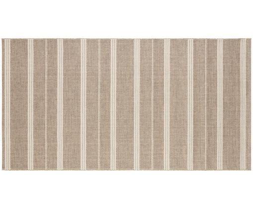In- en outdoor vloerkleed Laon, jute-look, Polypropyleen, Bruin, beige, B 80 x L 150 cm (maat XS)