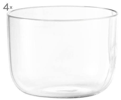 Bicchieri Corky, 4 pz., Trasparente