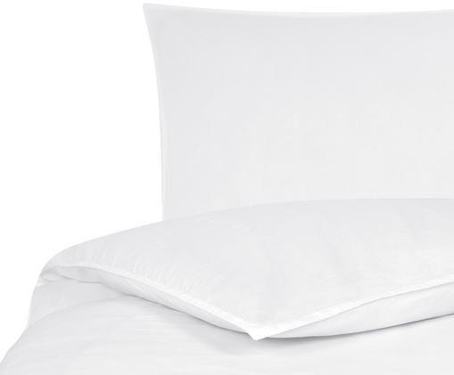 Gewaschene Leinen-Bettwäsche Carla, 52% Leinen, 48% Baumwolle Mit Stonewash-Effekt, Weiß, 155 x 220 cm