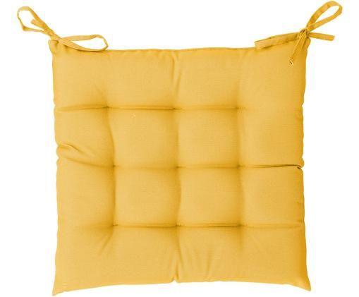 Cuscino sedia da esterno St. Maxime, Giallo, Larg. 38 x Lung. 38 cm
