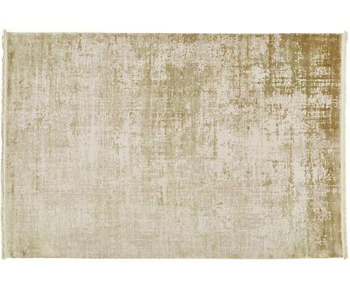 Dywan z frędzlami Cordoba, Oliwkowy zielony, beżowy, S 160 x D 230 cm