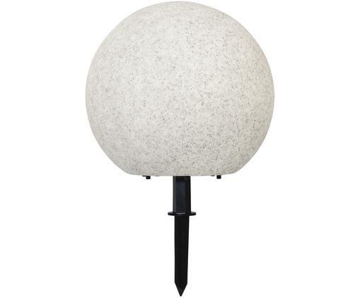 Zewnętrzna lampa LED Gardenlight, Tworzywo sztuczne, Biały, czarny, Ø 40 x W 38 cm