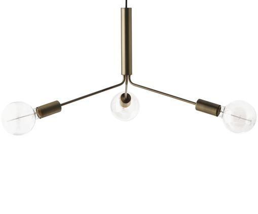 XL-hanglamp Grand Metro, Mat messingkleurig