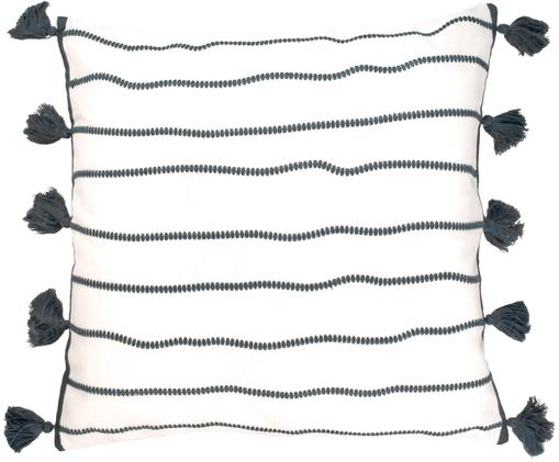 Federa Blanket , Cotone, Bianco con macchie nere, Larg. 50 x Lung. 50 cm