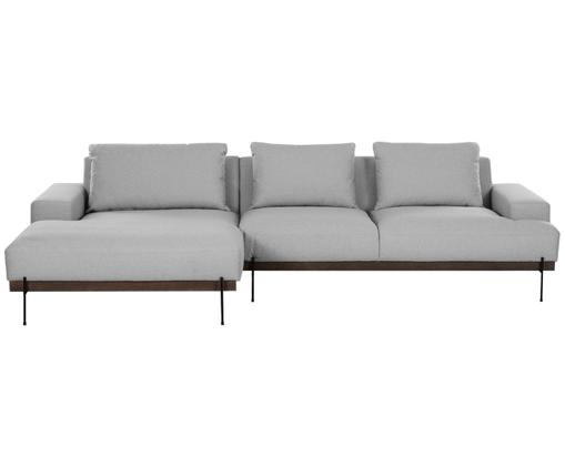 Ecksofa Brooks, Grau