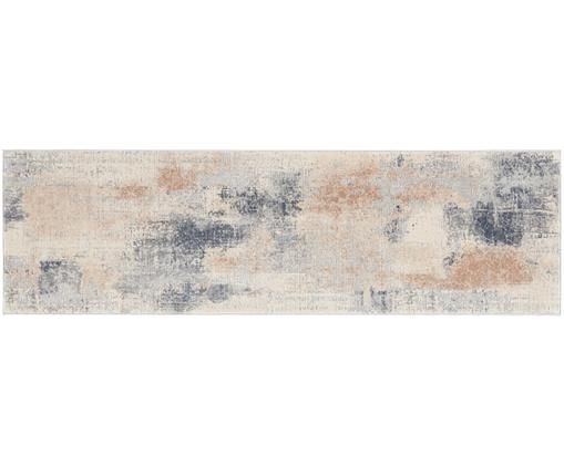 Chodnik Rustic Textures II, Odcienie beżowego, szary, S 70 x D 230 cm