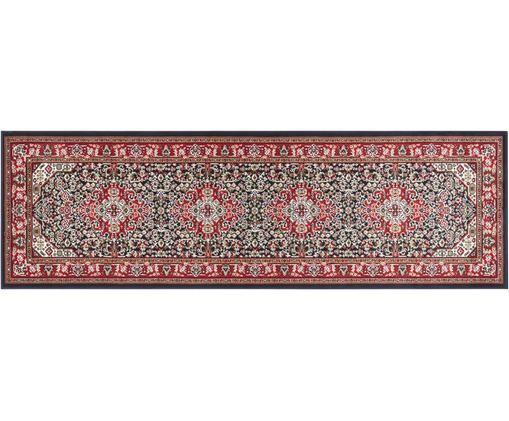 Läufer Skazar Isfahan im Orient Style, Rot, Mehrfarbig, 80 x 250 cm